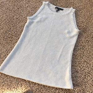 White House Black Market Shell Top - Size Small